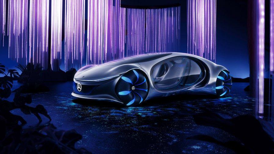 Mercedes-Benz AVTR concept (Photo credit: mercedes-benz.com)