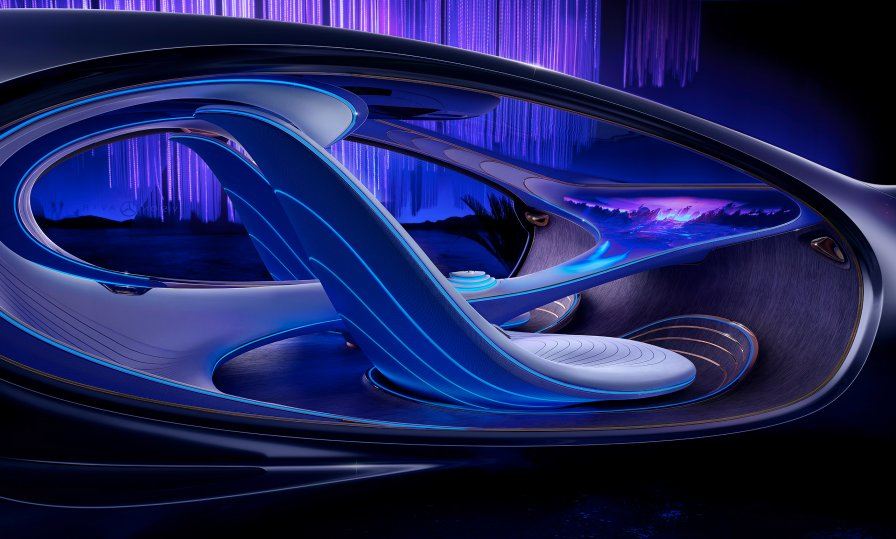 Mercedes-Benz AVTR concept (Photo credit: mercedes-benz.com)
