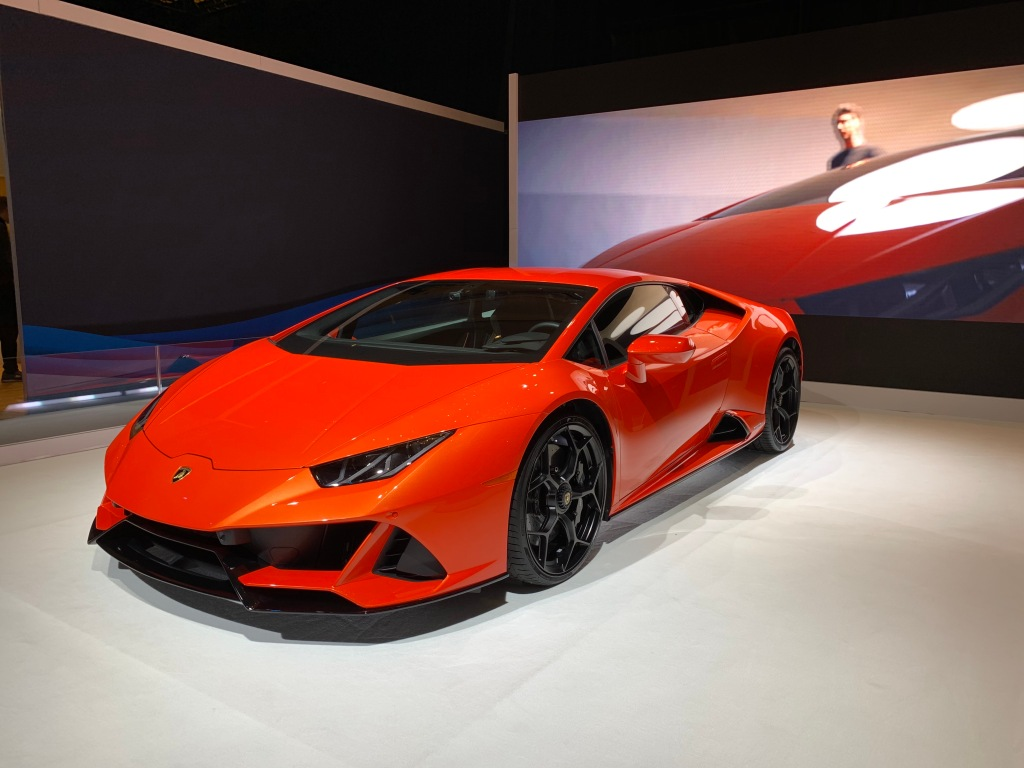 Lamborghini's Huracán Evo with Amazon Alexa integration